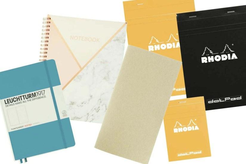 Notebooks on my journaling wishlist